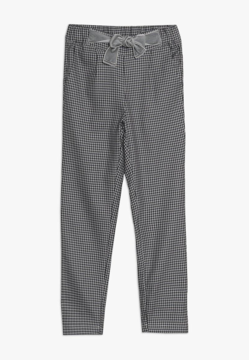 Ebbe - VAMILLA TROUSERS - Trousers - black/white