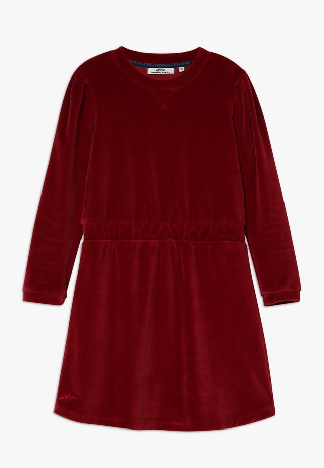 JALENA DRESS - Freizeitkleid - cherry red