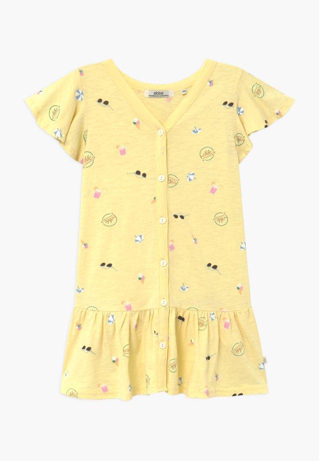HENRIETTA - Jersey dress - yellow