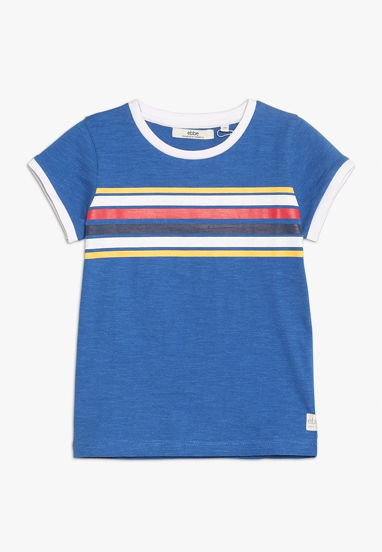 Ebbe - GIZELE TEE - T-shirt con stampa - royal blue melange