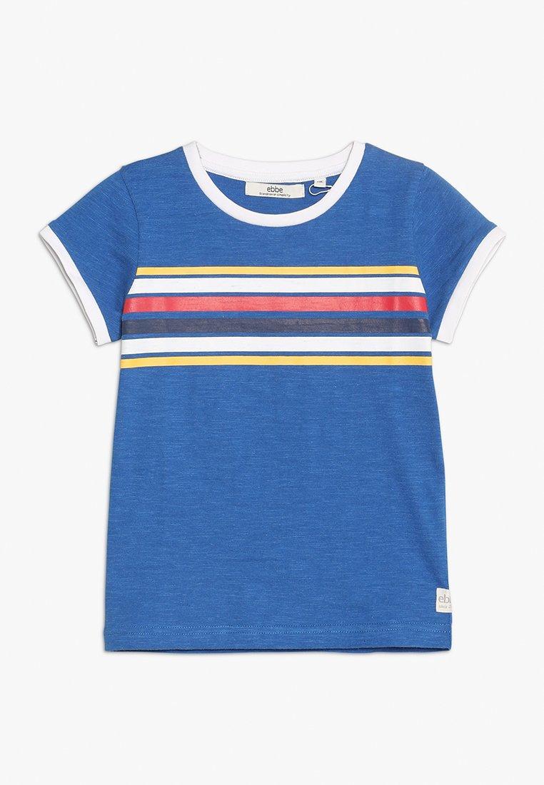 Ebbe - GIZELE TEE - T-Shirt print - royal blue melange