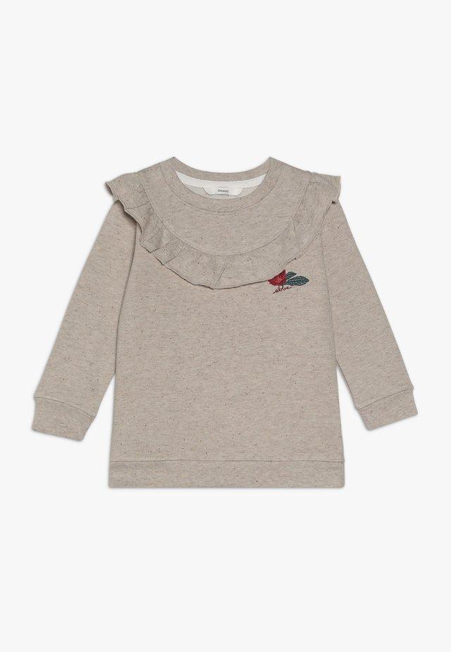 TALLIS - Sweatshirt - beige melange