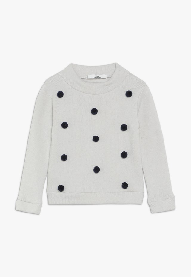 VALERIE DOT  - Strickpullover - white/navy