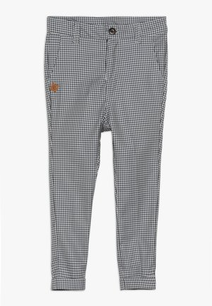 VARTUS TROUSERS - Trousers - black/white