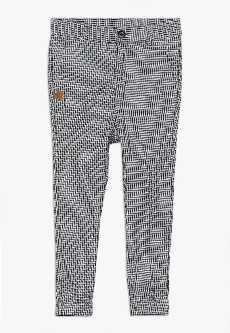 Ebbe - VARTUS TROUSERS - Trousers - black/white