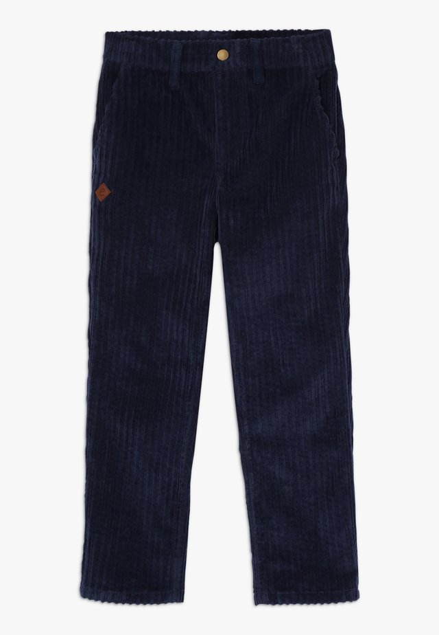 FAUSTINO TROUSERS - Stoffhose - navy