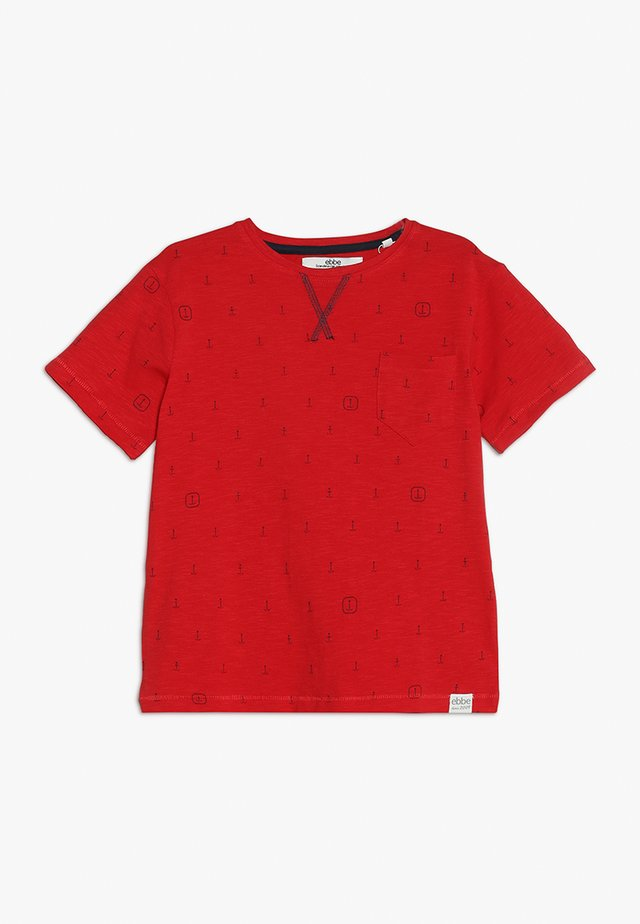 BOSTON TEE - Triko s potiskem - red
