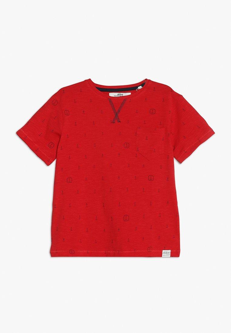 Ebbe - BOSTON TEE - Camiseta estampada - red