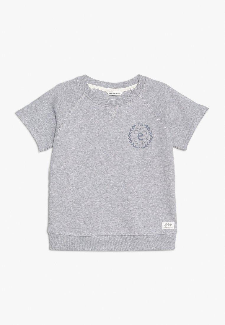 Ebbe - DEVON TEE - T-shirt print - light grey melange