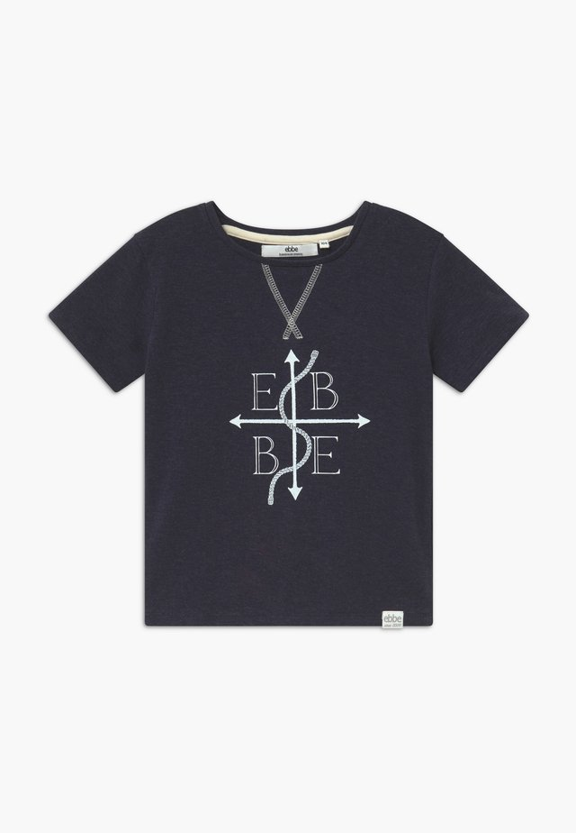 GILBERT TEE - T-shirt imprimé - navy