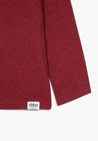 Ebbe - IVO RAGLAN - Camiseta de manga larga - cherry red melange - 3
