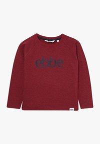 Ebbe - IVO RAGLAN - Camiseta de manga larga - cherry red melange - 0