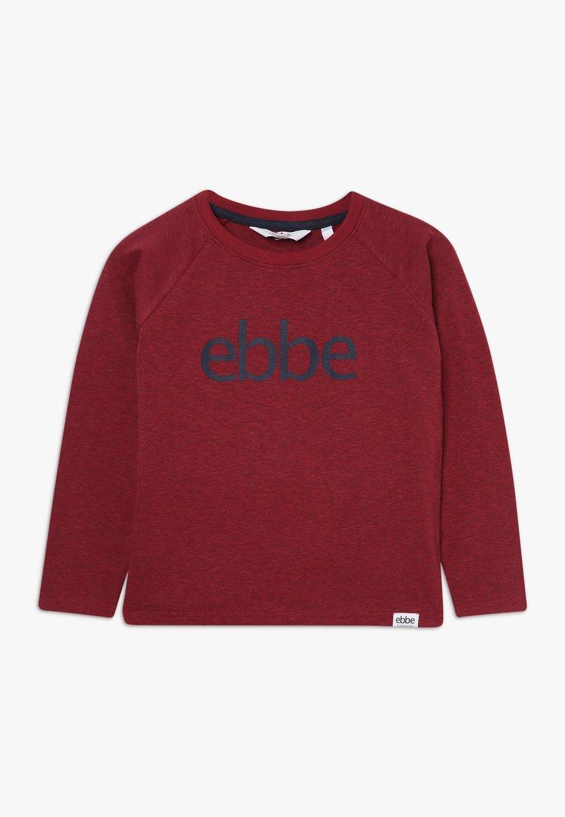 Ebbe - IVO RAGLAN - Camiseta de manga larga - cherry red melange