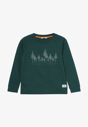 GARLAND SWEATER - Kapuzenpullover - wood green