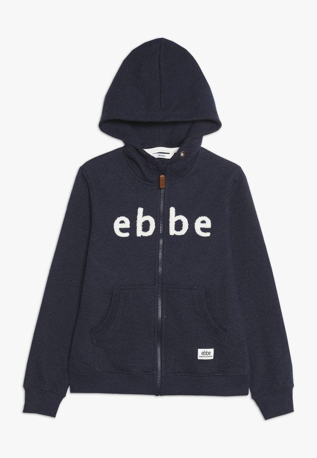 BALDWIN HOODIE - veste en sweat zippée - navy