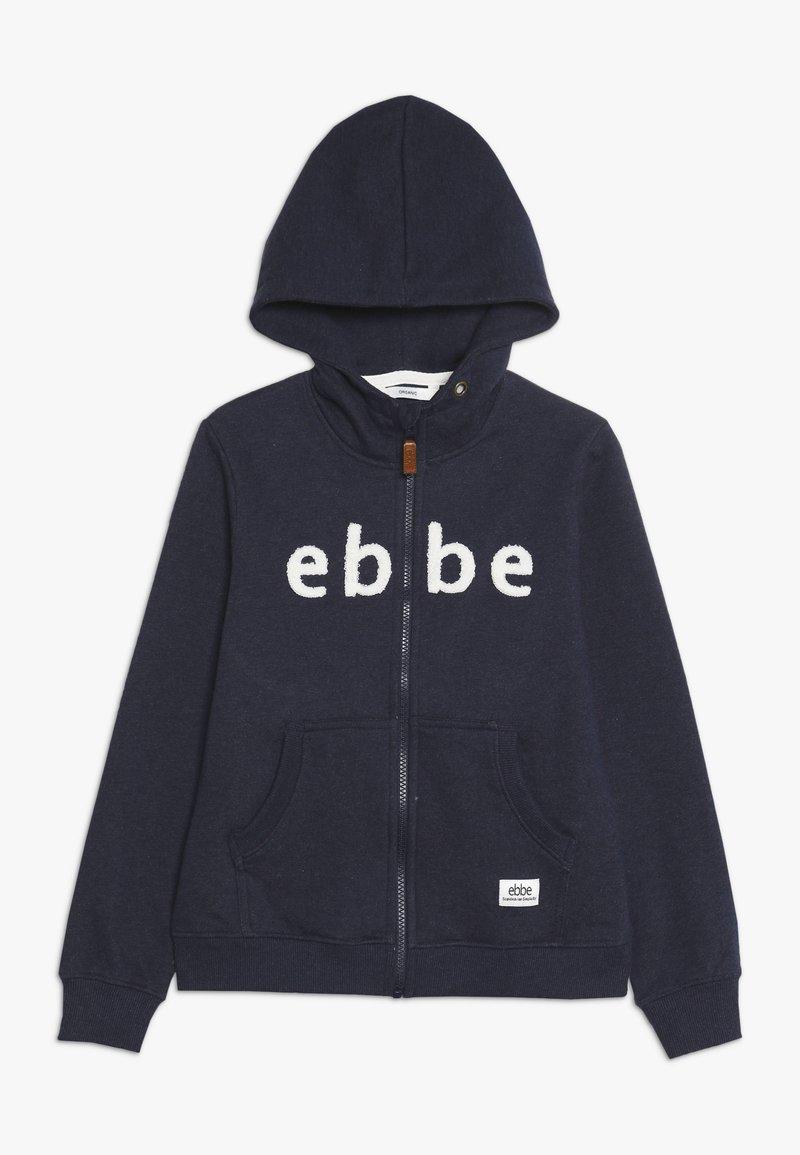 Ebbe - BALDWIN HOODIE - Zip-up hoodie - navy