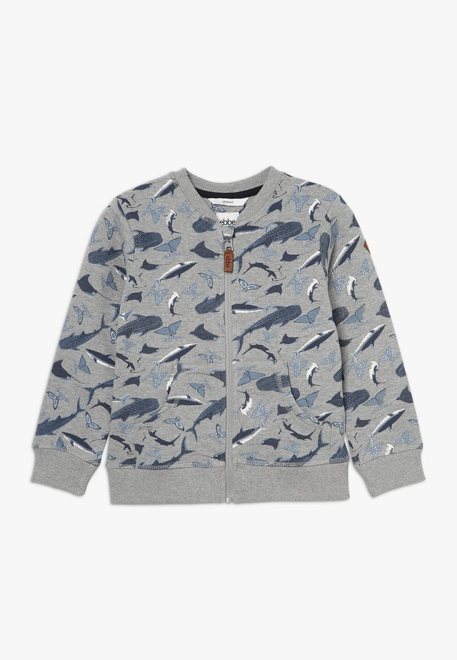BERKELY  - veste en sweat zippée - blue