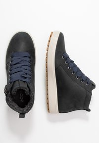 ECCO - SOFT TRED - Sneaker high - marine - 3
