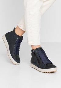 ECCO - SOFT TRED - Sneaker high - marine - 0
