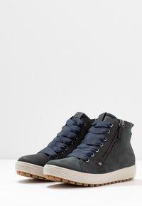 ECCO - SOFT TRED - Sneaker high - marine - 4
