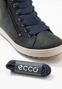 ECCO - SOFT TRED - Sneaker high - marine - 7