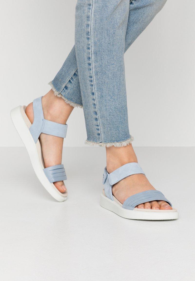 ECCO - ECCO FLOWT W - Sandals - dusty blue