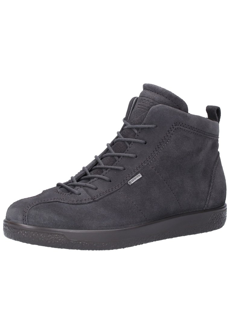 ecco Sneakersy wysokie - dark grey