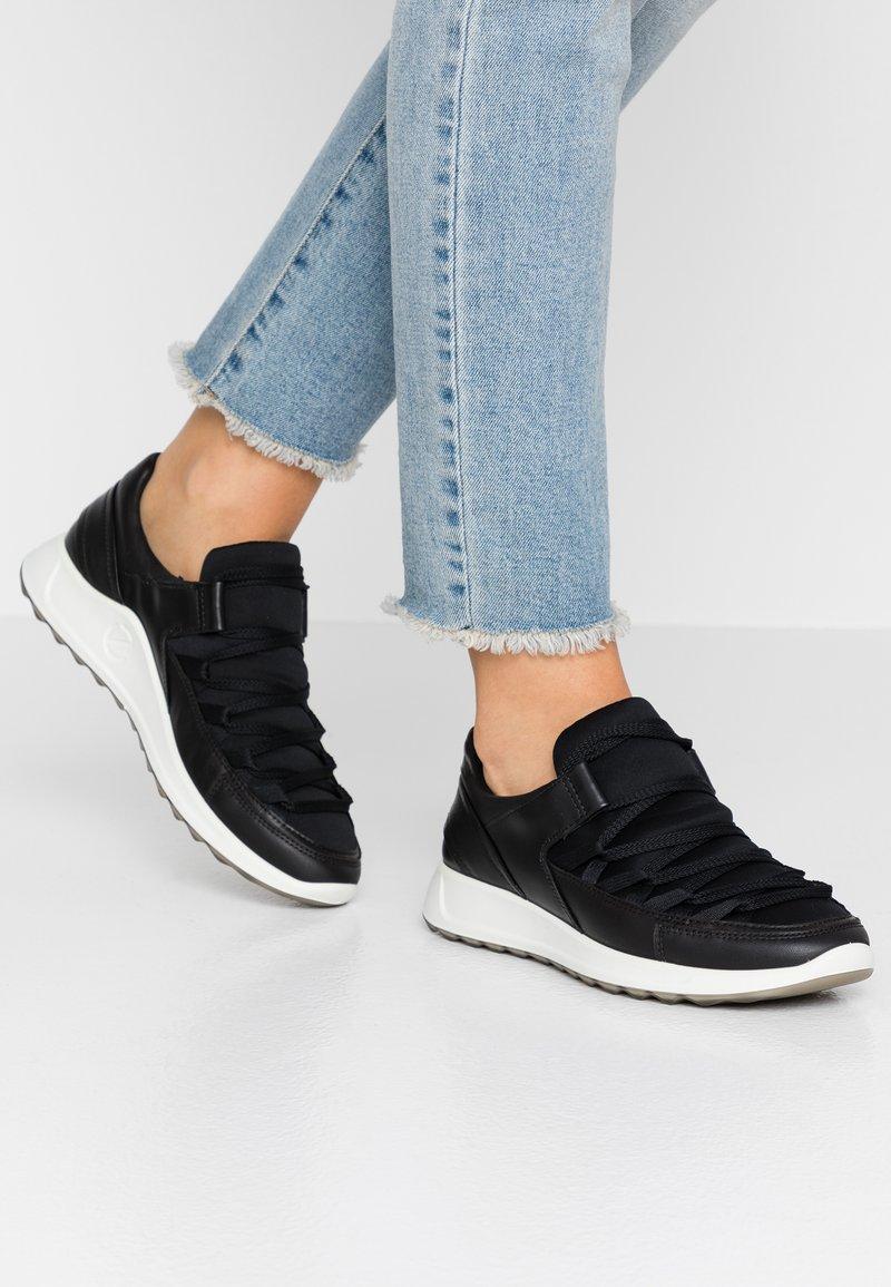 ecco - FLEXURE RUNNER II - Sneaker low - black