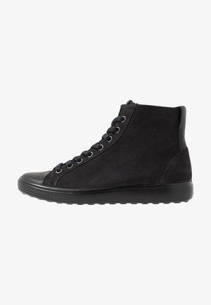 SOFT - Sneakers hoog - black