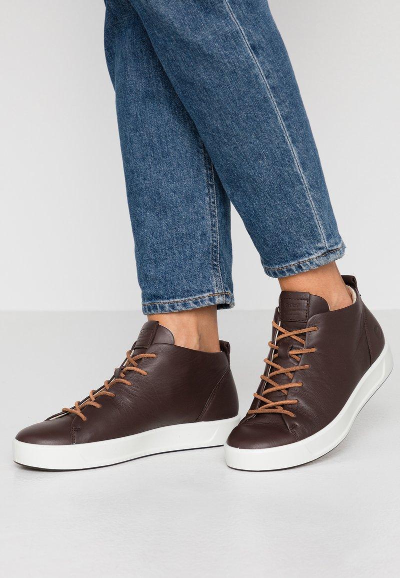ecco - SOFT  - Zapatillas altas - mocha