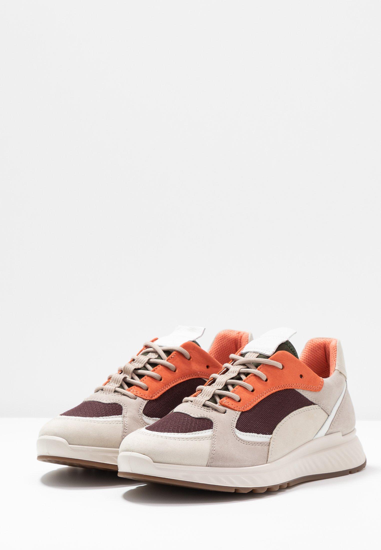 ecco Sneakers basse gravel/white/grey rose/apricot