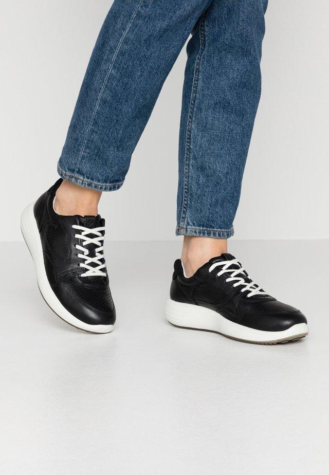 SOFT 7 RUNNER - Sneakers laag - black