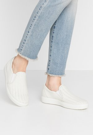 ECCO SOFT 7 W - Slippers - shadow white