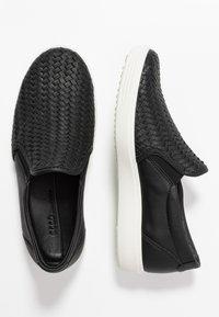 ECCO - ECCO SOFT 7 W - Slippers - black - 3