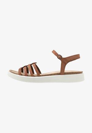 Sandały - mahogany