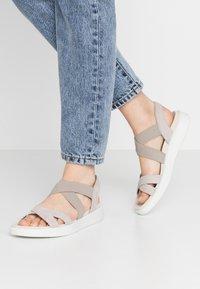 ECCO - ECCO FLOWT W - Sandals - grey - 0