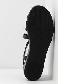 ECCO - ELEVATE - Sandały na platformie - black - 6