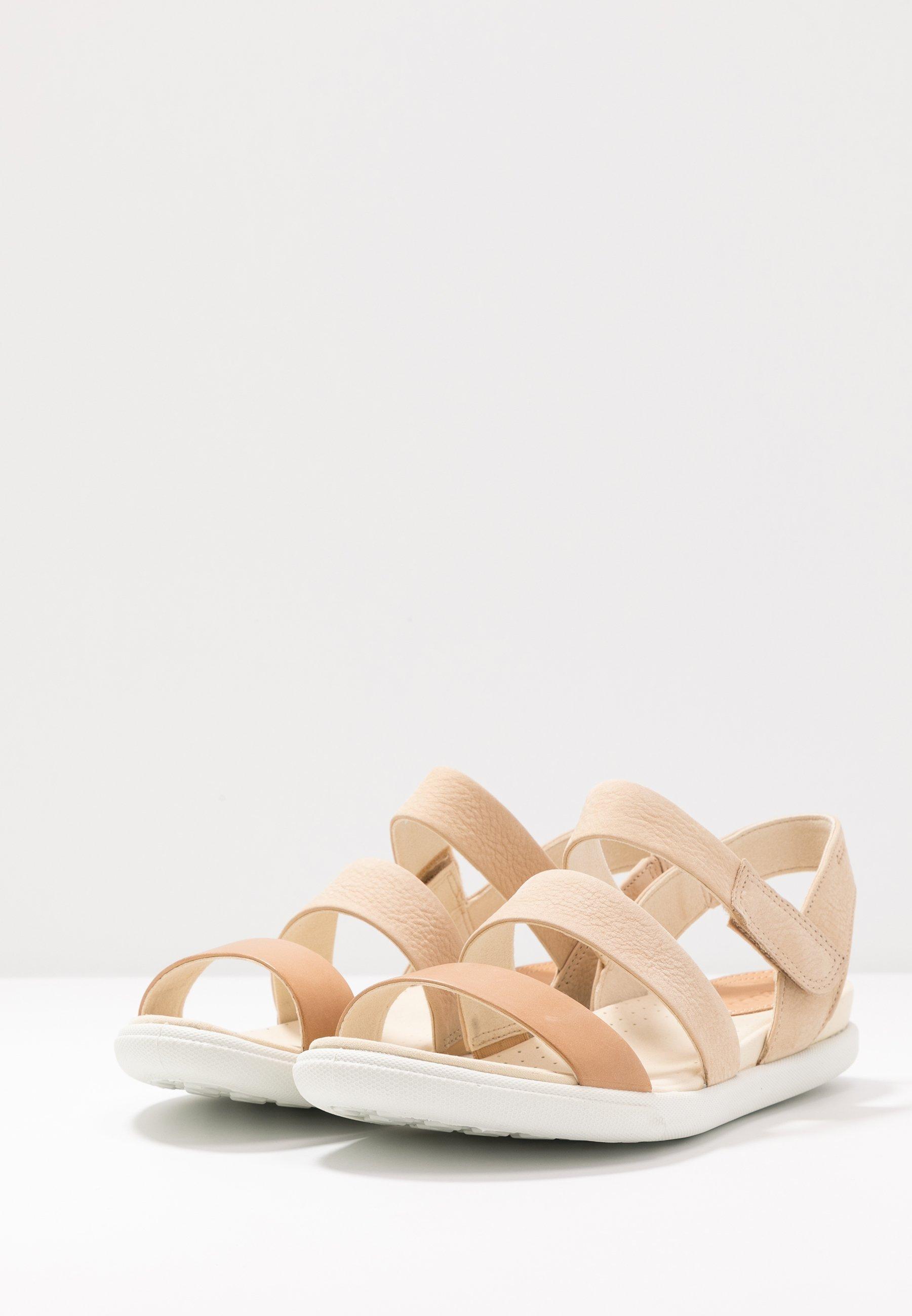 Relaxed Women Sandals Shoes Ecco Damara Beige Sandals Beige