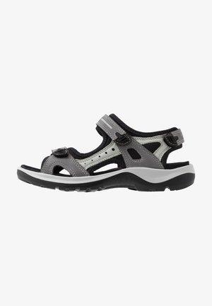 OFFROAD - Sandały trekkingowe - titanium