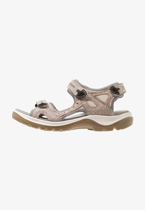 OFFROAD - Walking sandals - nude/marine