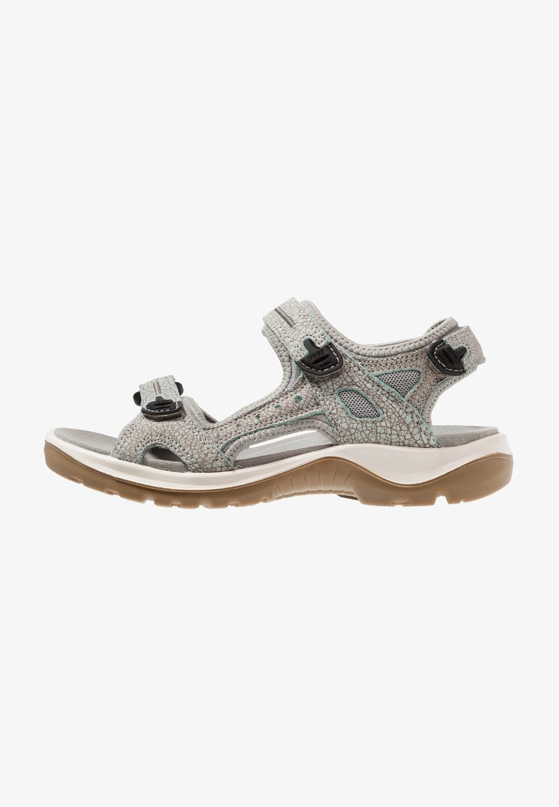 ecco - OFFROAD - Walking sandals - ice flower/cocoa brown