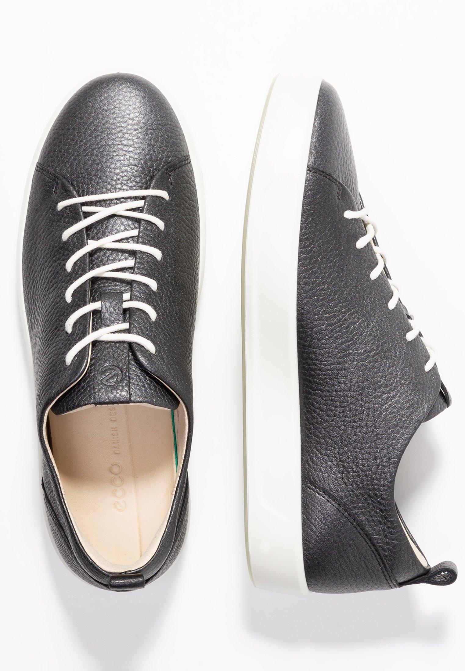 SOFT LADIES Sneaker low blackdark silver