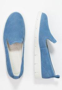 ECCO - BELLA - Slip-ons - retro blue - 3