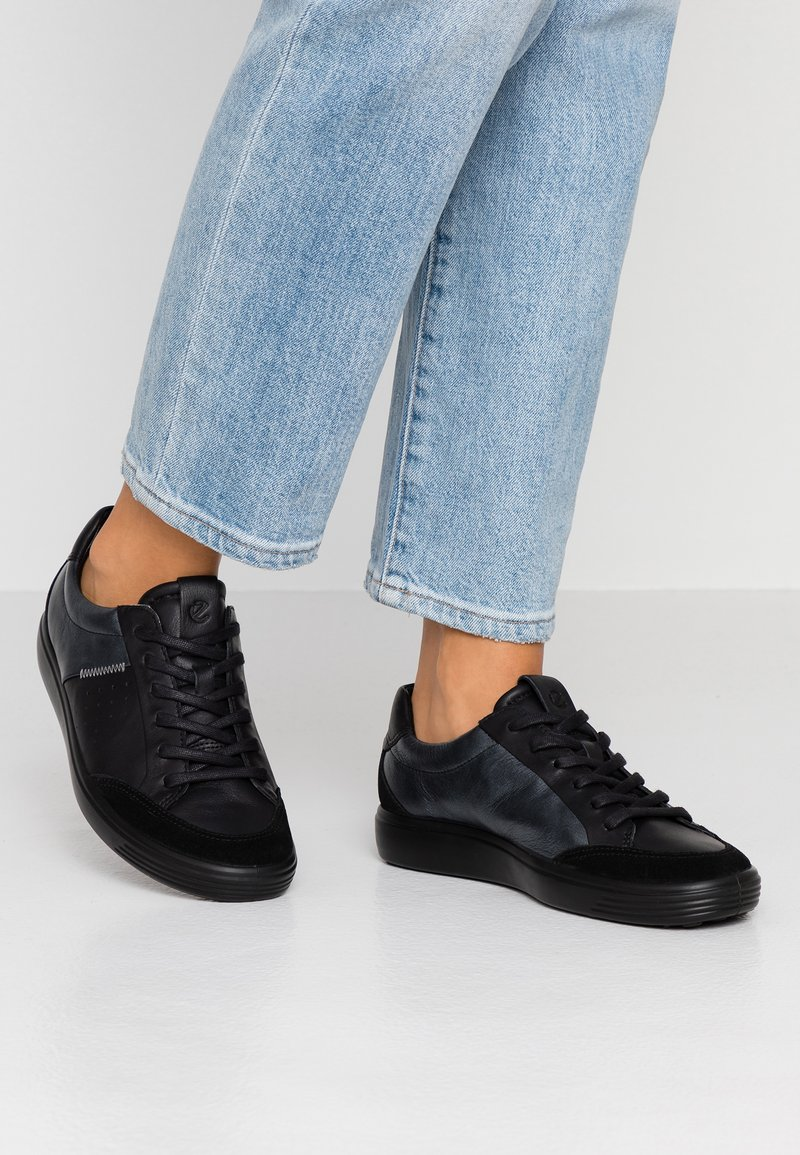 ecco - SOFT - Sneaker low - black