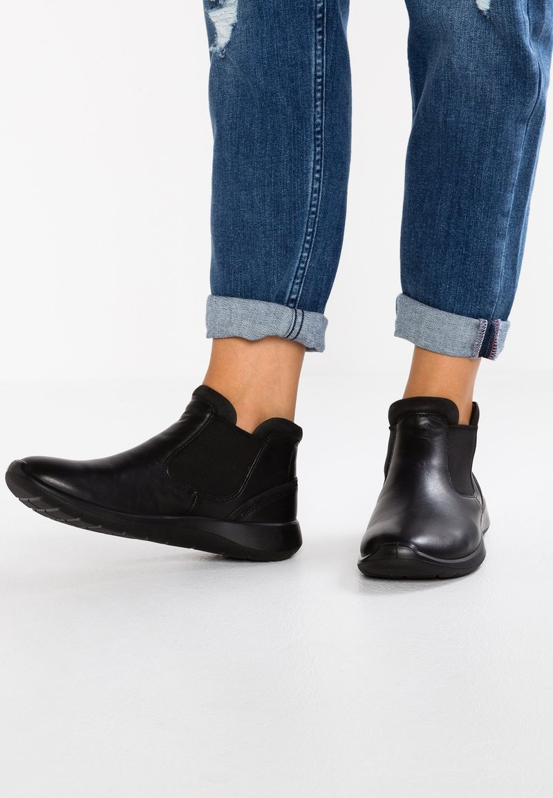 ecco - SOFT 5 - Ankle Boot - black