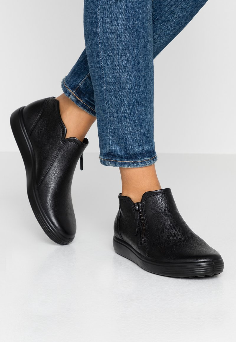 ecco - SOFT  - Ankelboots - black