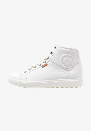 SOFT VII - High-top trainers - white