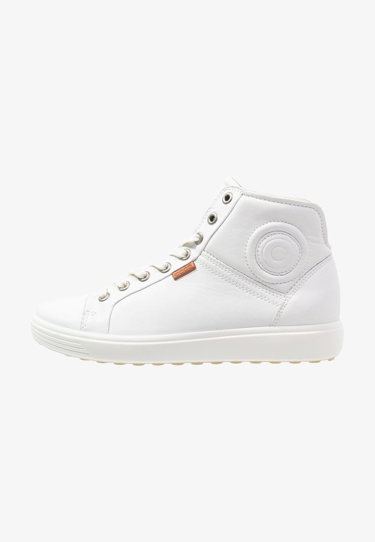ecco - SOFT VII - High-top trainers - white