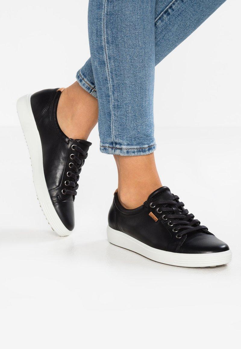 ecco - SOFT LADIES - Sneakers - black