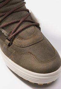 ecco - SOFT TRED - Zimní obuv - navajo brown/moon rock - 2